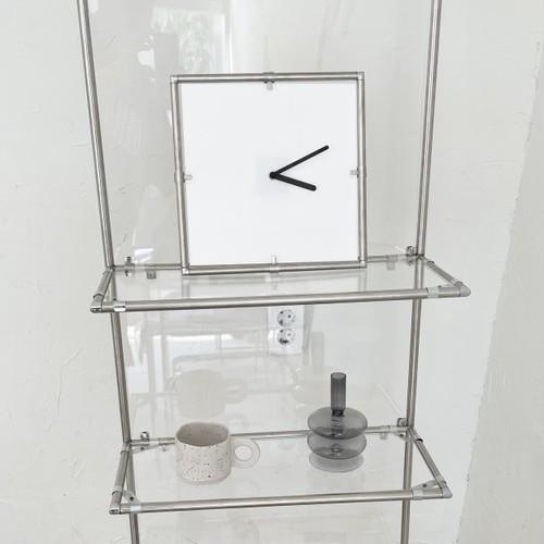 module minimal clock 5colors / モデュール ミニマル クロック 壁掛け時計 置き時計 韓国 北欧 雑貨