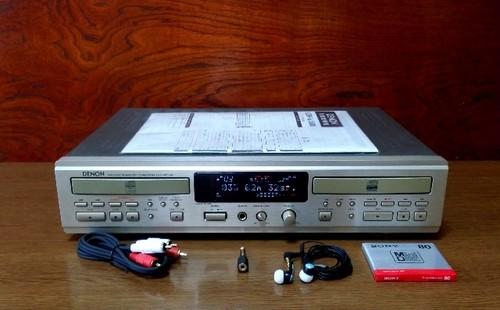 CDレコーダー DENON CDR-W1500 倍速コピー良好・完動品