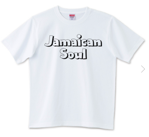 Jamaican Soul(POPロゴ)【Tシャツ】
