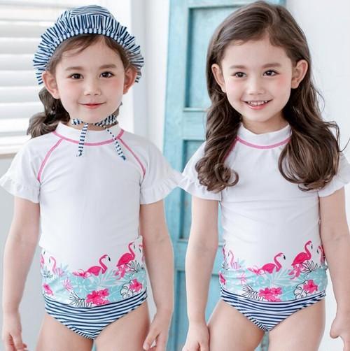 9483子供ビキニ キッズ水着 女児 女の子用ビキニ 水着 セパレート ベビー水着 子ども キッズみずぎ スイミング ウェア ジュニア 小学生 タンキニ