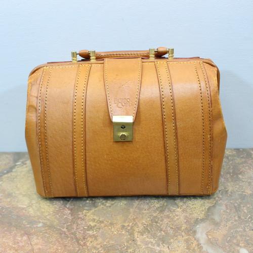 BRUNO CONTI LEATHER DOCTOR's HAND BAG/ブルーノコンティレザードクターズハンドバッグ