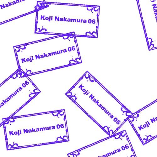 Koji Nakamura - Texture06(CDR)