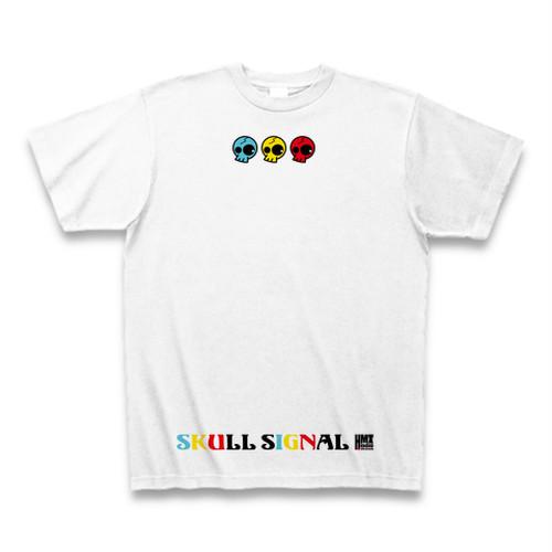 ドクロの信号 Tシャツ