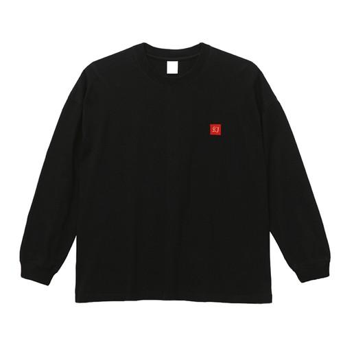 Maboroshi  7.1oz  Heavy weight  L/S 刺繍 T-shirts Black
