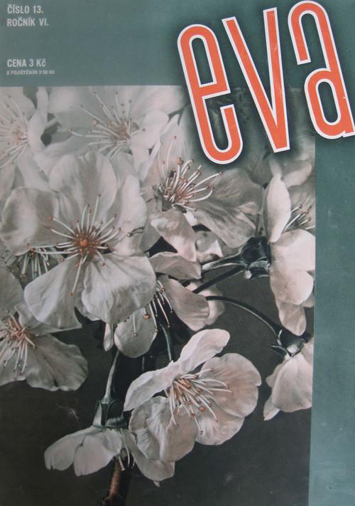 チェコのモード誌「eva」1934年5月1日号