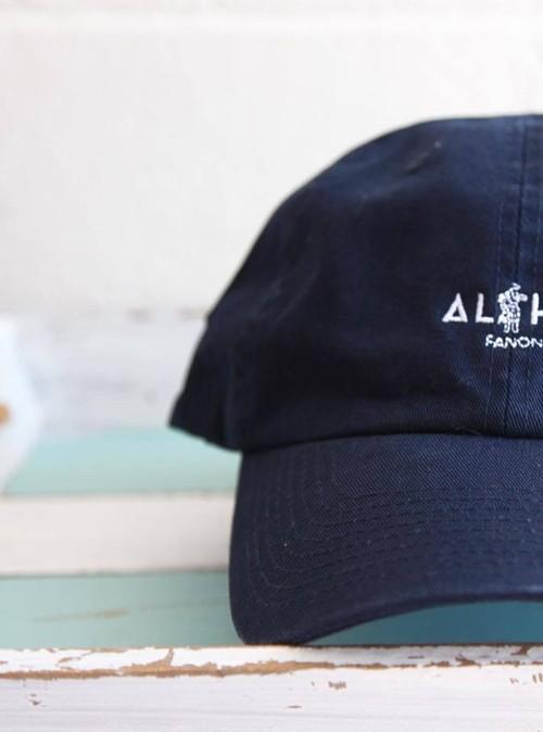 ALOHA HULA HAT -BLACK-
