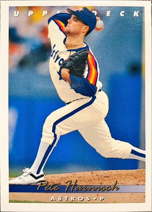 MLBカード 93UPPERDECK Pete Harnisch #097 ASTROS