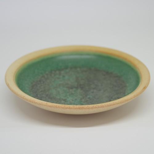やちむん【空~KOO~】丸皿 4寸