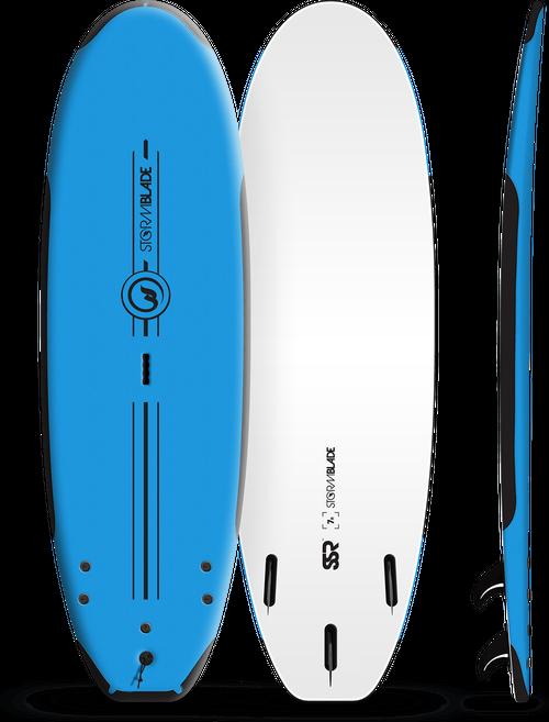 Storm Blade 7ft SSR Surfboard / Azure Blue