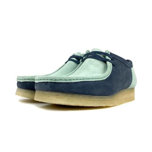Clarks Wallabee 2CLR / BLUE GREEN