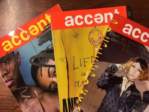 【洋雑誌】Accent Magazine Issue1 - Issue3 3冊セット