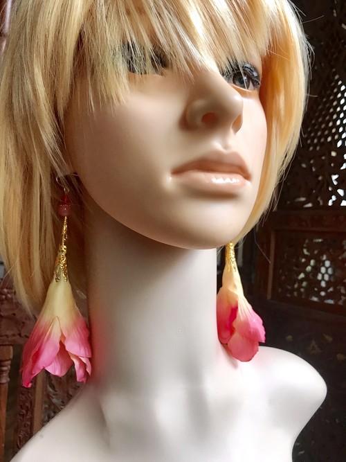 ロマピアス peach pink-L