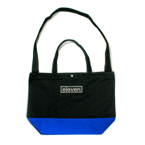 CANVAS TOTE BAG / BLACK×BLUE