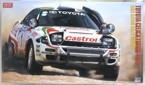 ハセガワ 1/24 トヨタ セリカ ターボ 4WD 1993 サファリラリー