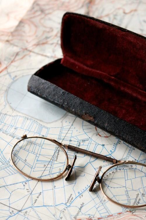 フランス アンティーク 鼻眼鏡