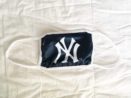 大人用 マスク 布マスク 洗える 水洗い MLB New York Yankees NY ニューヨーク ヤンキース 2927