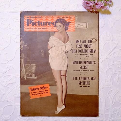 """1954年 イギリス映画雑誌 """" Picturegoer """"  10月30日号   [OV-15]"""