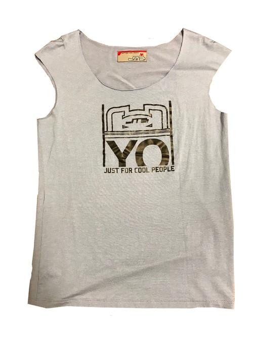 【JTB】 YO Fスリーブ トップ【スカイグレー】【新作】イタリアンウェア【送料無料】《W》