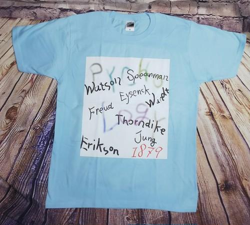 サイコロジストTシャツ
