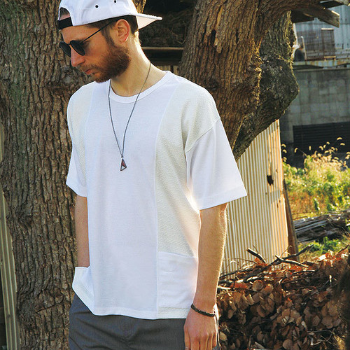 quolt SWITCH KNIT / クオルト カットソー / WHITE / 901T-1298