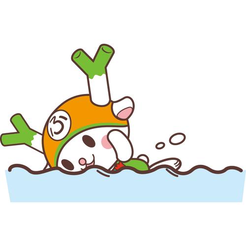 フィルター・ストッパー付き ふっかちゃんマスク / No.121【水泳】