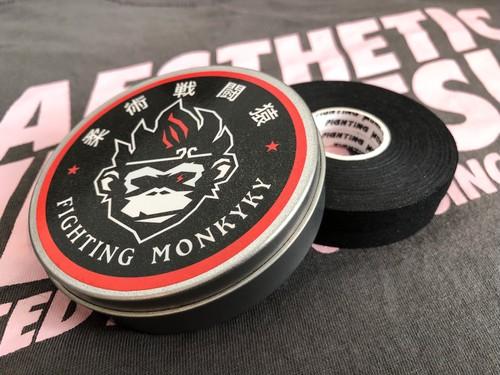Fighting Monkyky 柔術フィンガーテープ  2ロール入り(缶ケース付)
