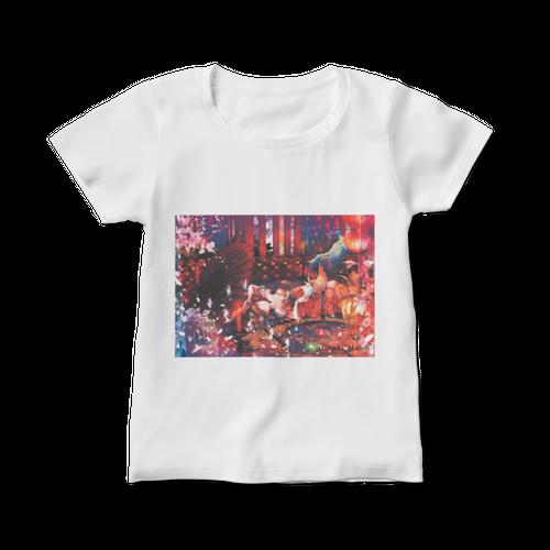 オリジナルレディースTシャツ【現し世ノ梦~うつしよのゆめ~】 / yuki*Mami
