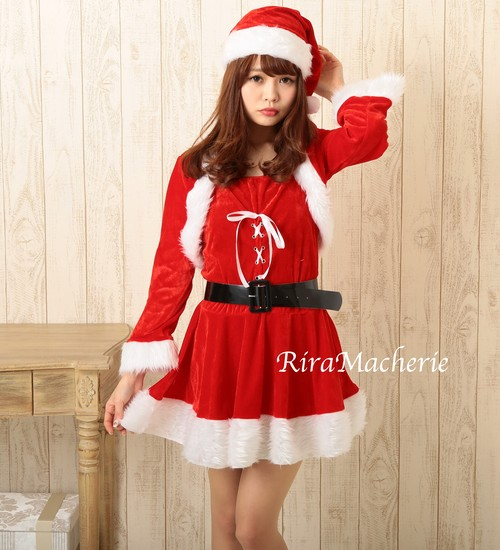 クリスマスサンタコスプレ☆定番タイプ