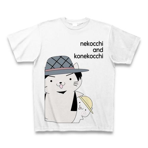 nekocchi&konekocchiTシャツ ホワイト
