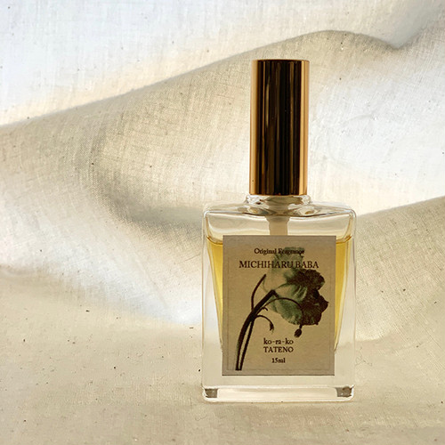 【販売開始:送料無料】*0 0 1 MICHIHARU BABA*Original fragrance 15ml with MICHIHARU BABA 作品4Set サッシェ付き