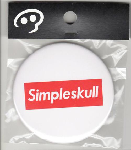 76CB007 simple skull 赤角