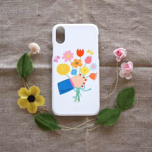 【iPhone / Android 各機種専用タイプ】側表面印刷*ハード型*スマホケース「gift」● 受注生産