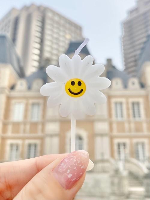 お花のキャンドル<1本入り>