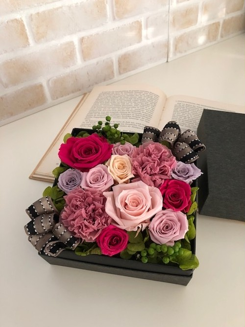 プリザーブドフラワーflower box~フラワーボックス~