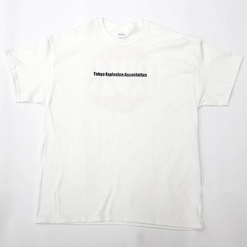 コピー:T.E.A. Tee-shirt 【White・ホワイト】 トーキョーエクスプロージョンアソシエーション Tシャツ 半袖Tシャツ ディスジャパ オリジナル