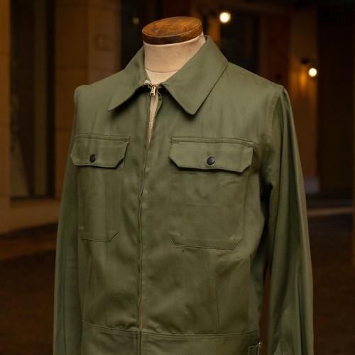 60's AUSTRALIAN ARMY COTTON JACKET DEAD STOCK