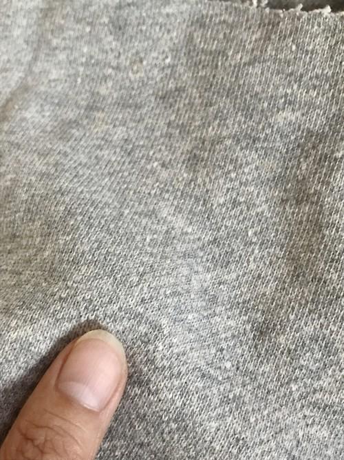 TERRY ヘンプ30%×オーガニックコットン70% 120cm幅 杢グレー