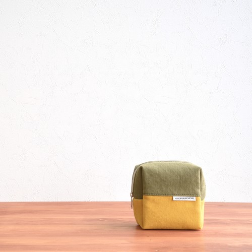 CANVAS BOX POUCH S / MG×MA
