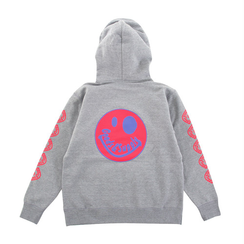 【Goods & Supply】Smile Pullover Hoodie / Gray
