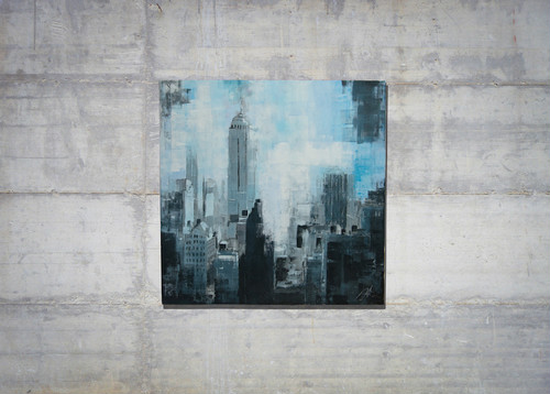 New York, city scape composition #9 (額入り特別作品)