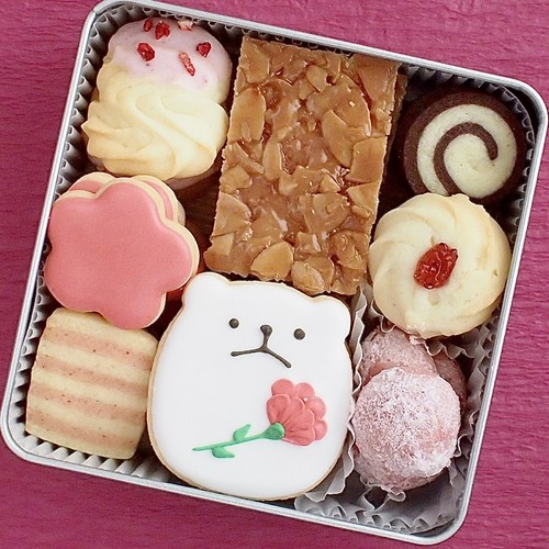 【5/5~9にお届け】母の日クッキー缶(大)