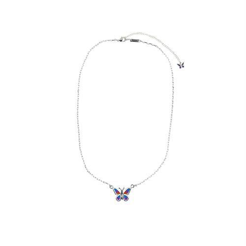STUGAZI Butterfly Necklace SILVER