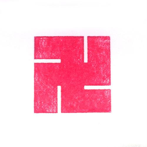 左万字 家紋スタンプ