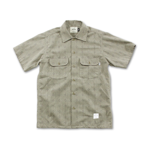 SEVENTY FOUR / OPEN COLLAR SHIRT S/S