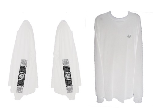 MIYAKO Logo Long Tee 2 (White)