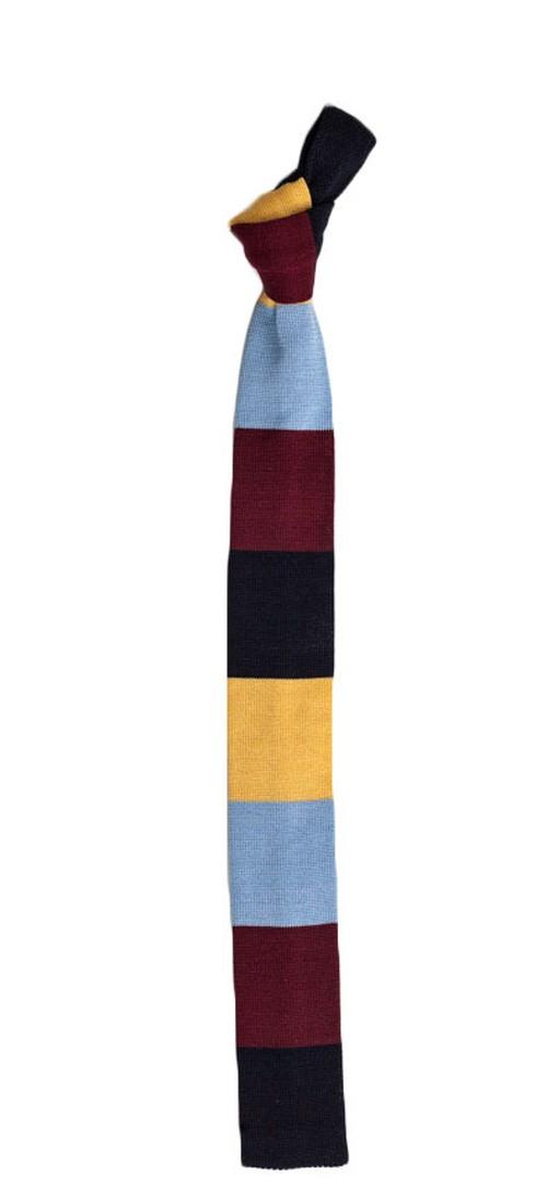 カラーブロック ニットタイ Vista Color Block Knit Tie