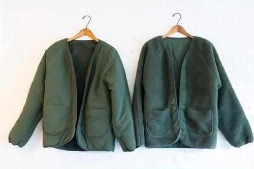 MCWオリジナル リバーシブルボアフリースジャケット