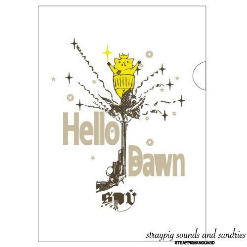 クリアファイル / Hello dawn
