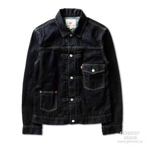 GOWEST-POST WORK JACKET/ONE WASH
