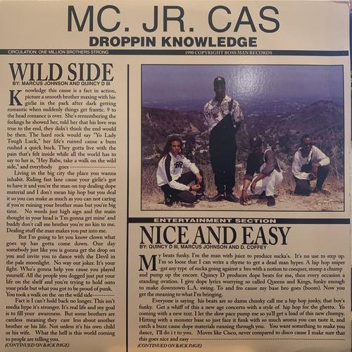 MC. Jr. Cas - Wild Side / Nice And Easy